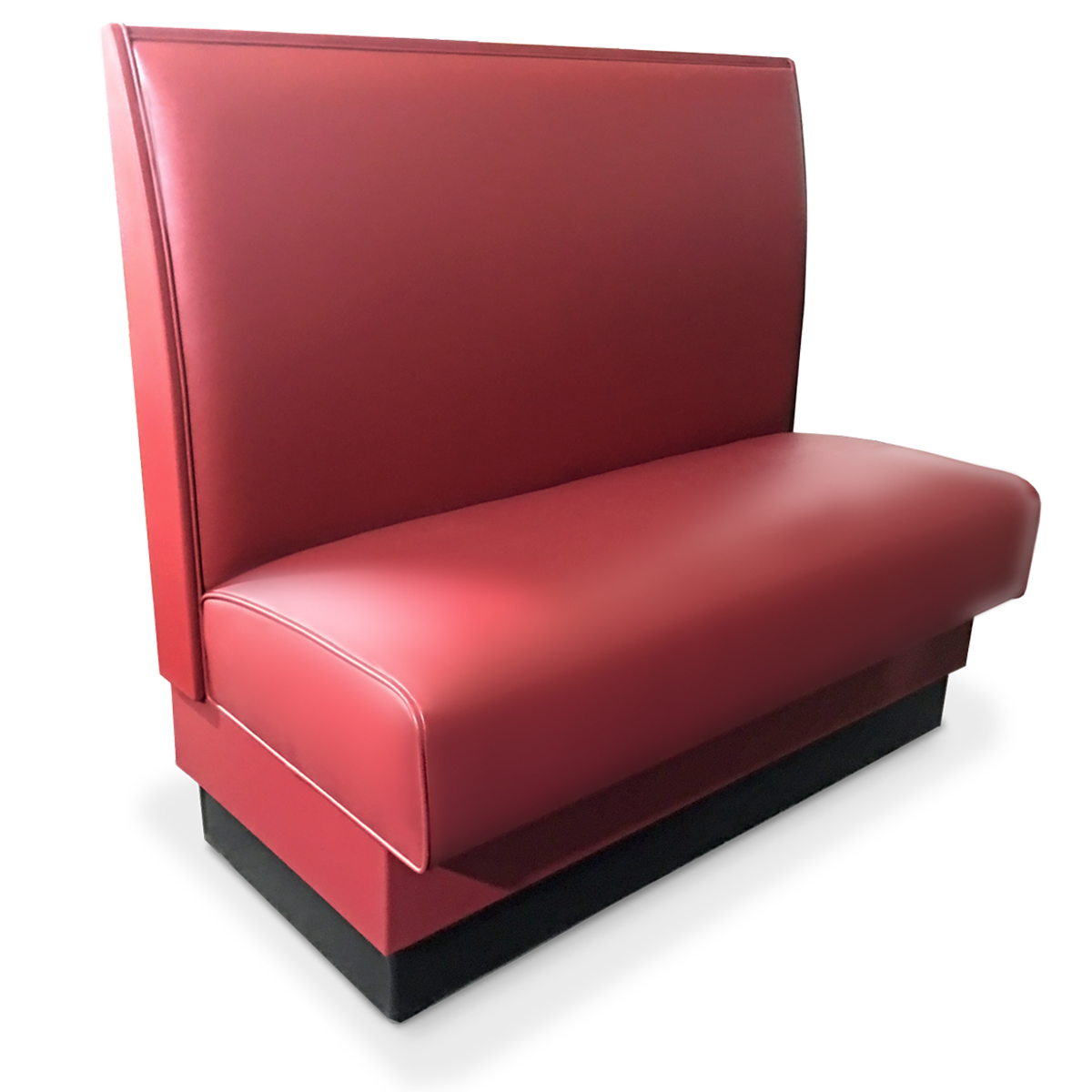Upholstered Spring Seat Single Booth 36 Quot H Millennium