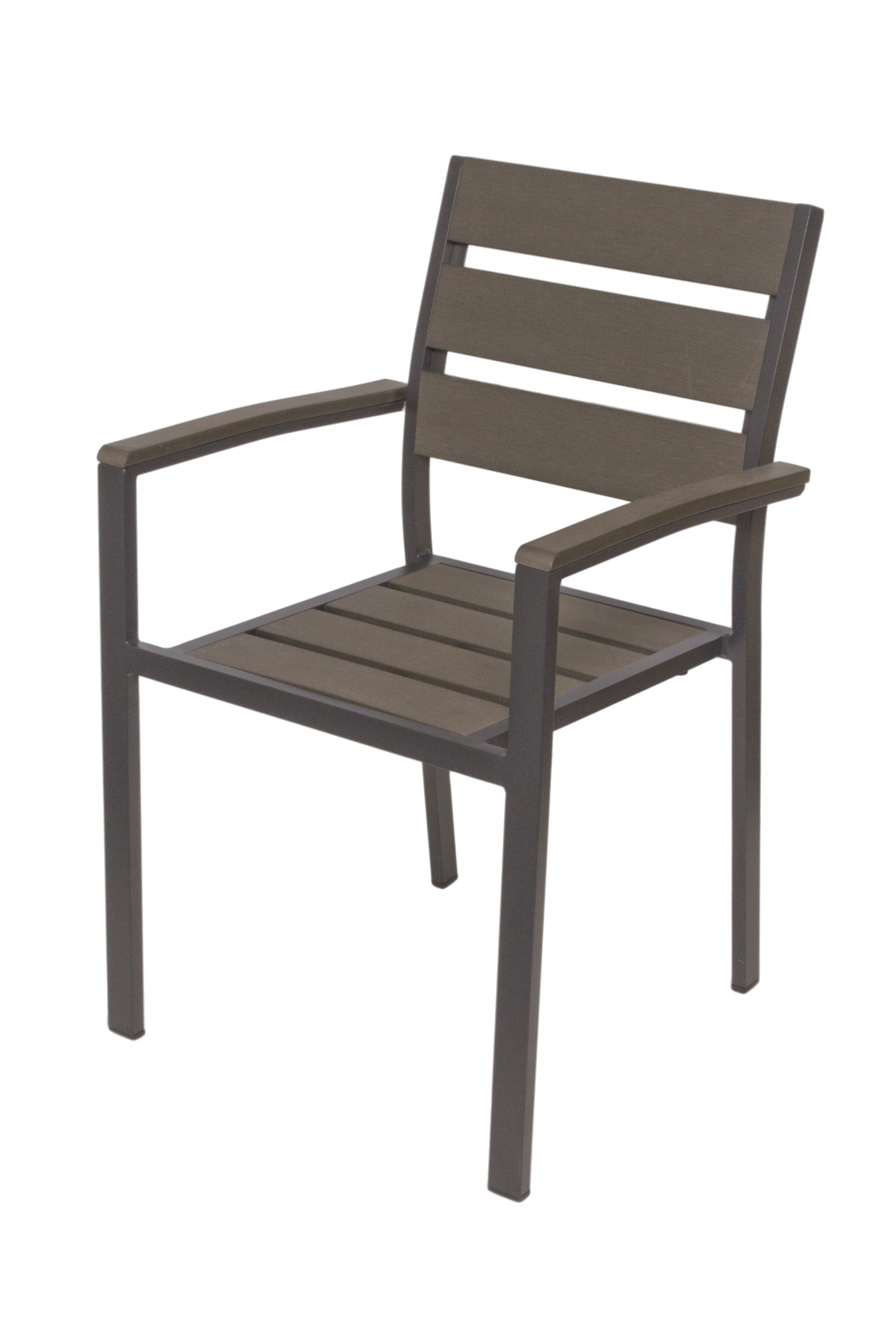 Outdoor Chairs Polywood Aluminum Outdoor Arm Chair
