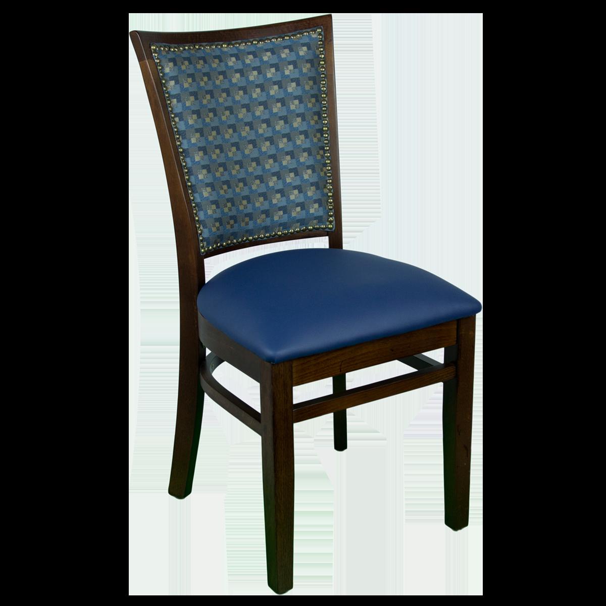 Wood Window Back Chair