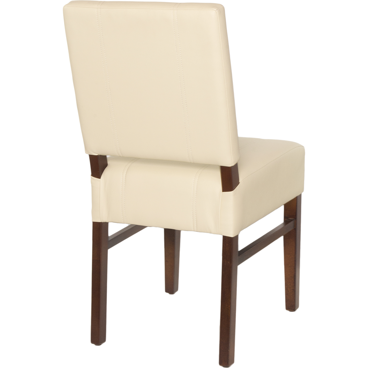 Wood Chairs Wood Upholstered Square Pullover Back Chair