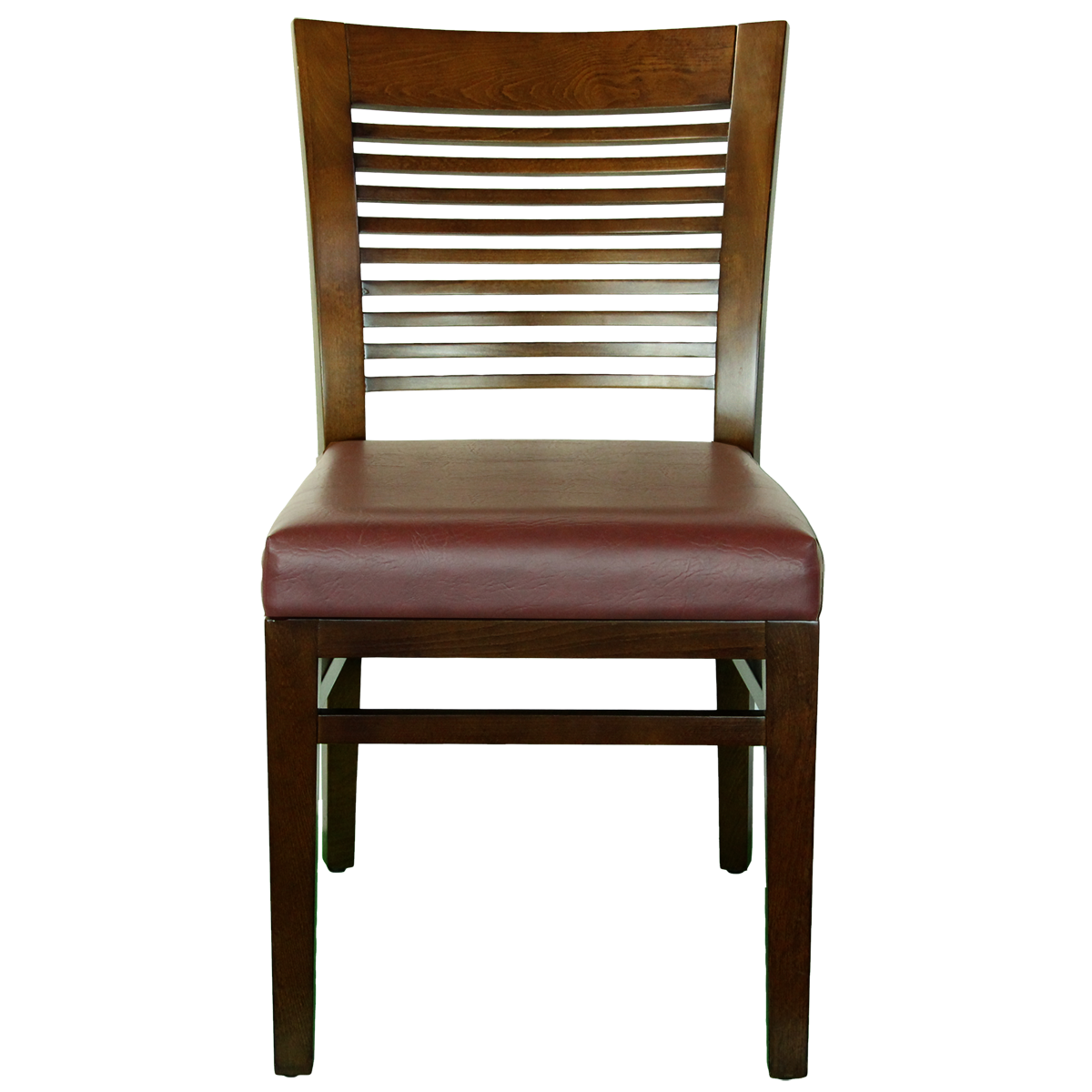 Chairs wood decorative ladder back side chair for Wooden chair