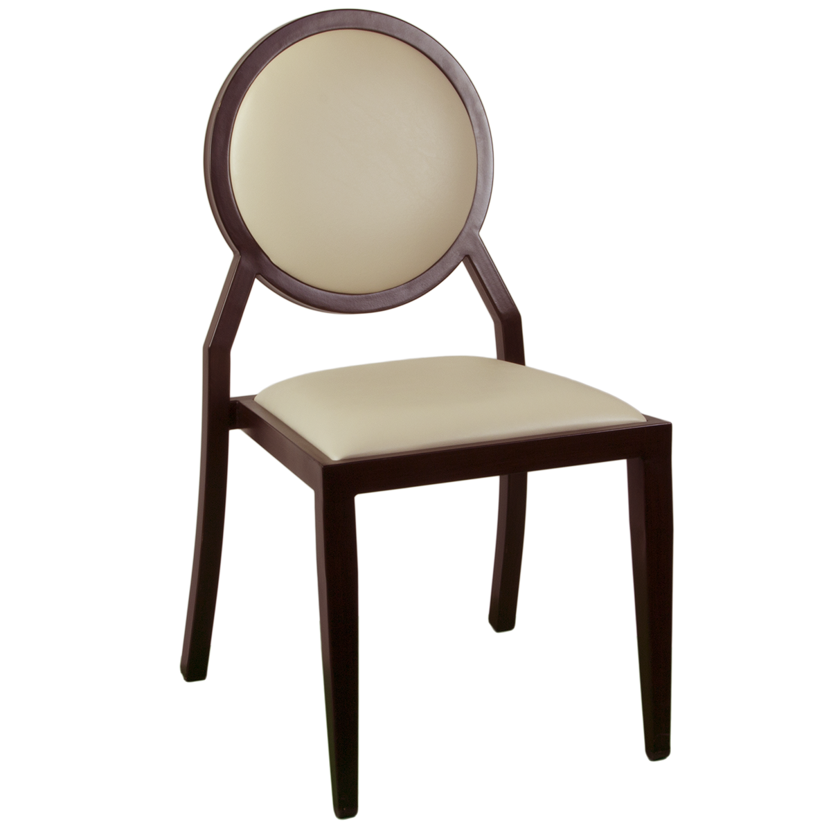 Chairs : Wood-Look Stacking Round Back Chair