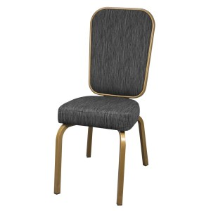 Elegant Aluminum Rectangle Banquet Chair