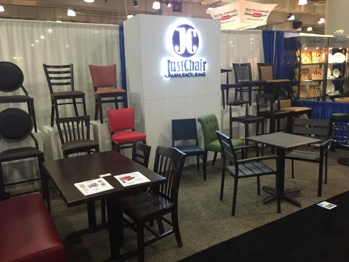 JustChair Manufacturing attends various national and regional trade shows every year. Sign up to our newsletter for updates on our next show.