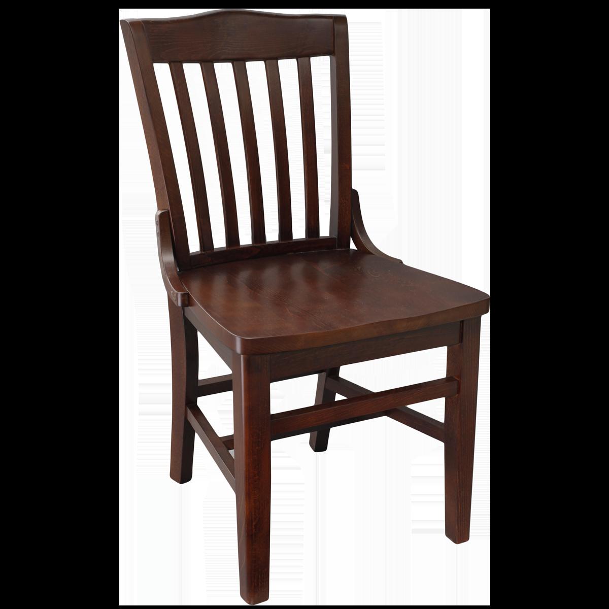 Wood Schoolhouse Chair
