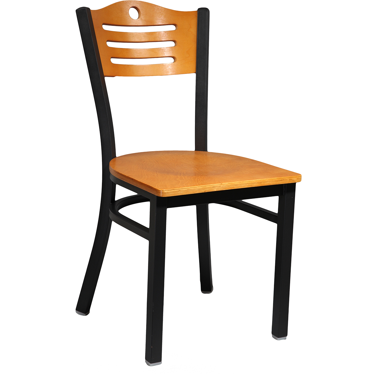 Metal Laser Wood Chair