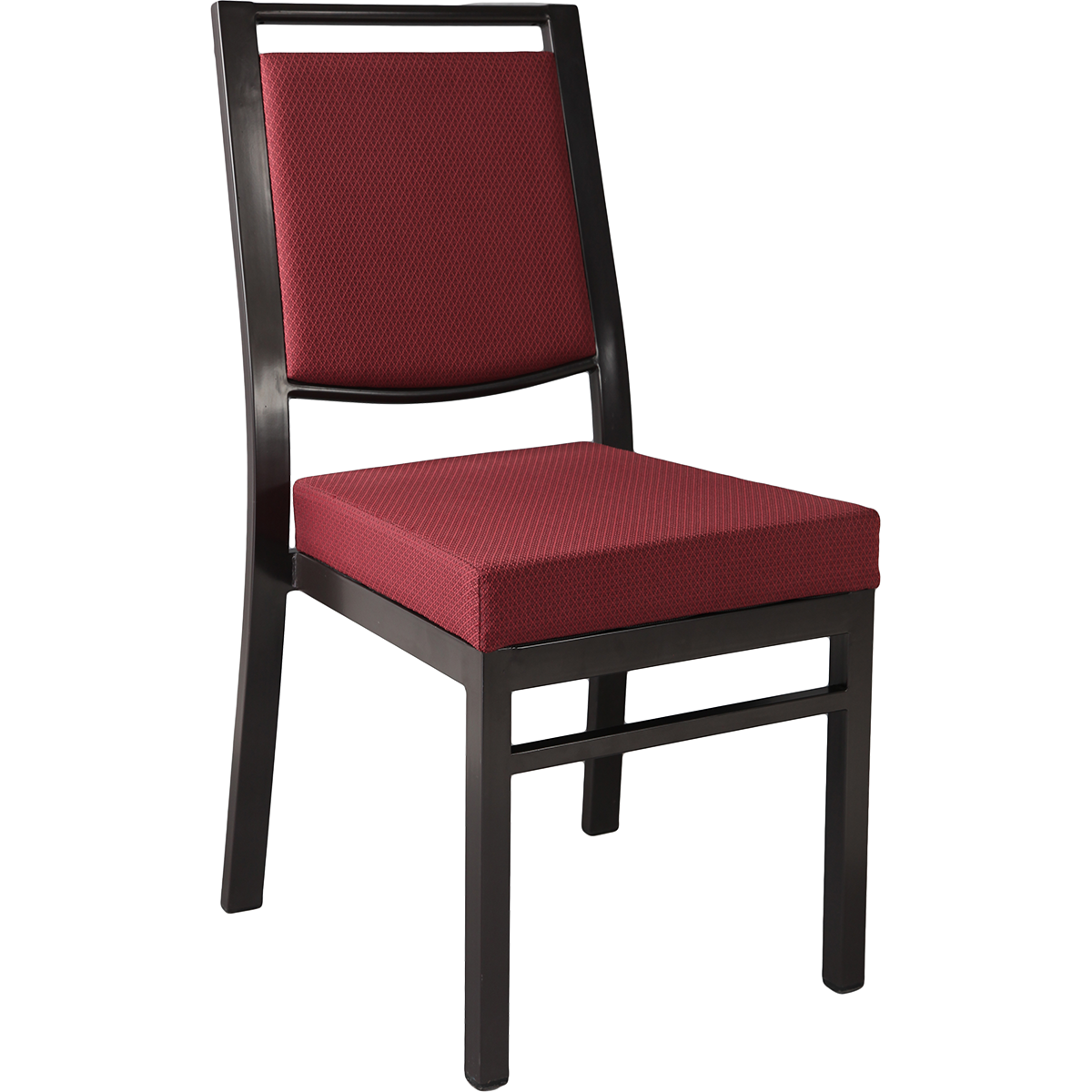 Metal Stacking Square Back Banquet Chair - QUICKSHIP