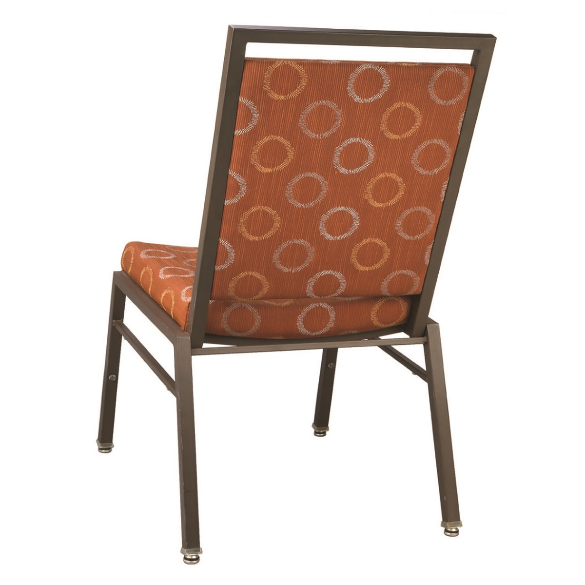 Steel Rectangle Contour Banquet Chair