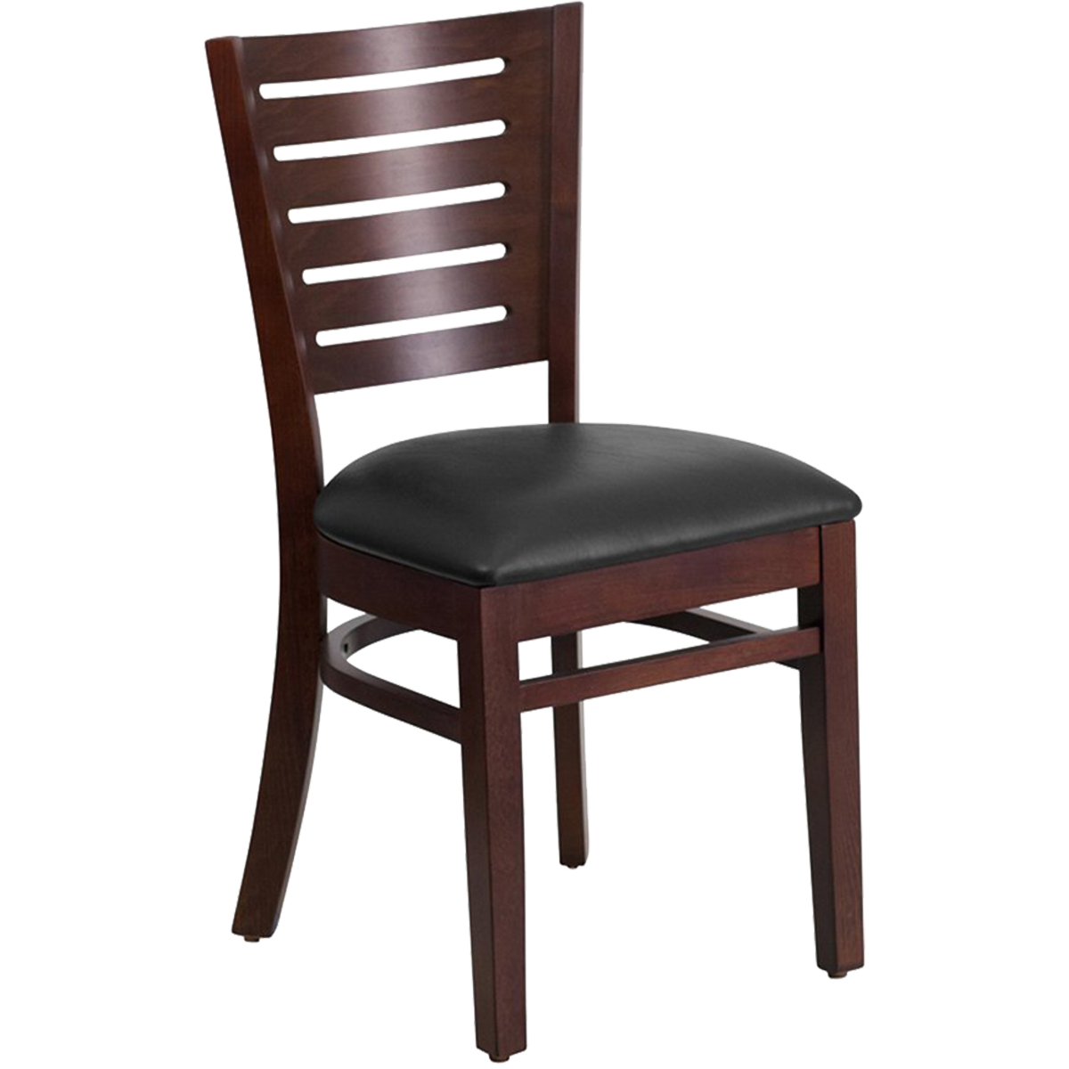 Wood Decorative Laser Back Chair
