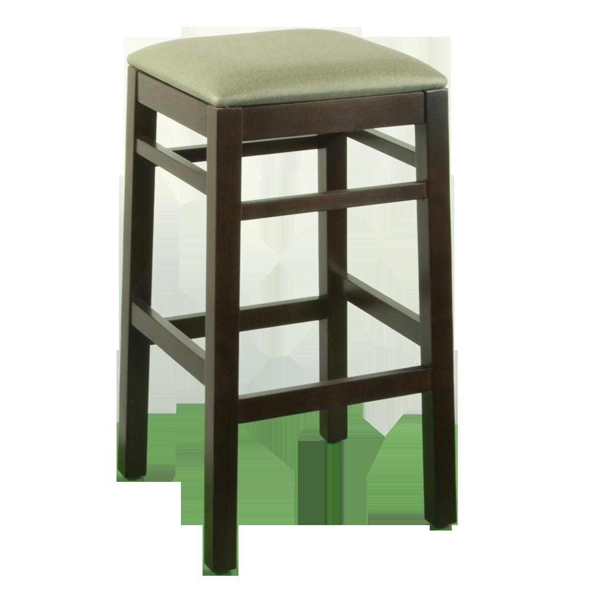Wood Backless Barstools