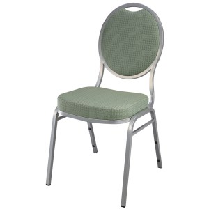Steel Oval Banquet Chair
