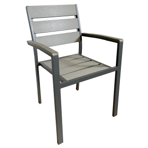 Perma-wood / Aluminum Outdoor Arm Chair