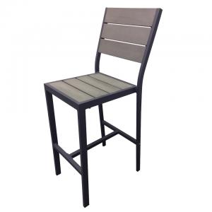 Perma-wood / Aluminum Outdoor Barstool